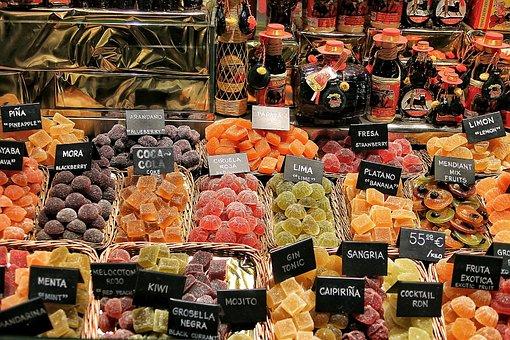 Market, Fruit, The Boqueria, Barcelona