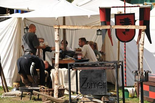 Middle Ages, Market, Men, Zorner