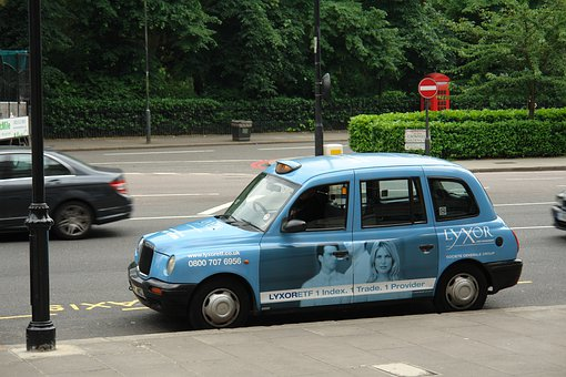 Taxi, London, Rain, New York