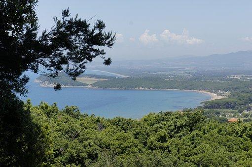 Toscana, Maremma, Italy, Landscape, Sea, Coast, Beach