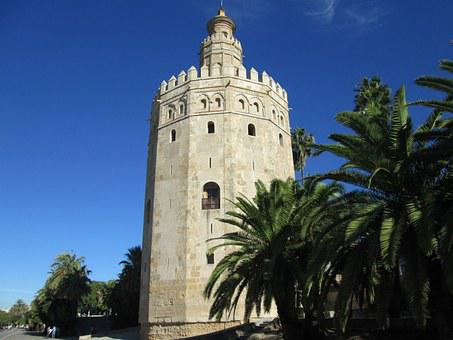 Gold Tower, Andalusia, Spain, Seville