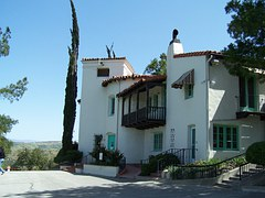 House, Hill, Spanish, Architecture, Structure, Home