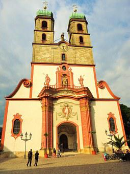Bad Säckingen, Fridolinsmünster, Church, Germany