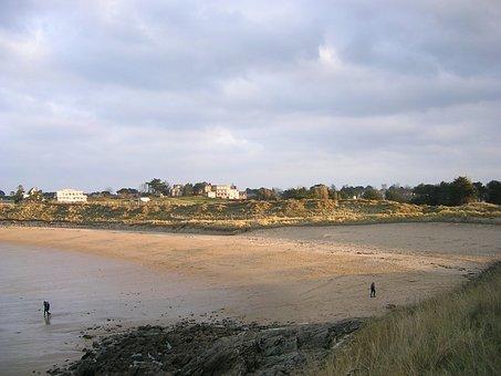 France, Brittany, Dinard, Golf, Beach