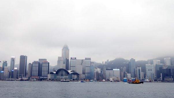 The Urban Landscape, City, Hong Kong, Large F, Hk