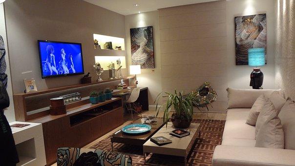 Tv Room, Tv, Sofa, Decoration