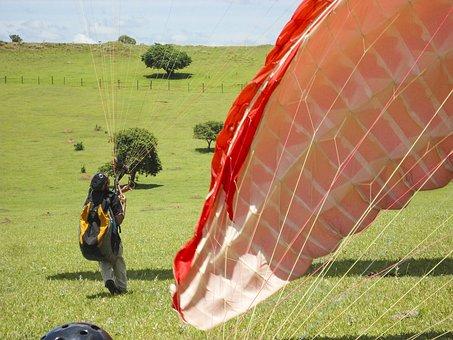 Paragliding, Flight, Free Flight