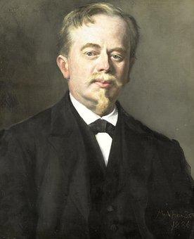 Augustus Allebé, Portrait, Artwork, Canvas, Historic