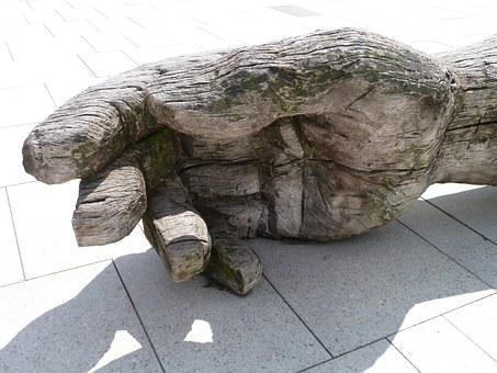 Hand, Wood, Finger, Carving, Wood Carving, Art, Log