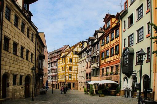 Nuremberg, Old Town, Middle Ages, Truss