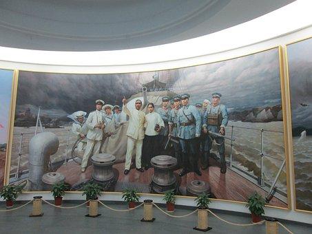 Museum, Sun Yat Sen, Oil Painting
