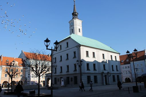 Gliwice, The Old Town, The Market, Poland, Monuments