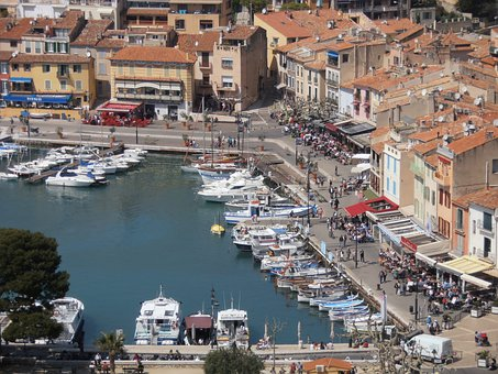 Port, Boats, Cassis