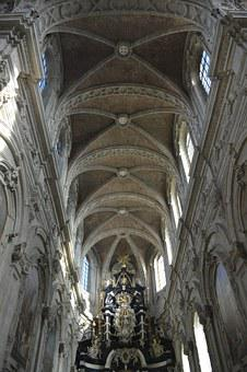 Dome, Vaults, Building, Architecture, Church