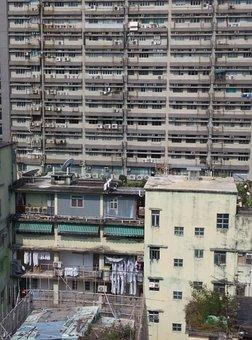 Hong Kong, Mong Kok, Building, Asia