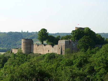 Castle, City Blankenberg, Historically