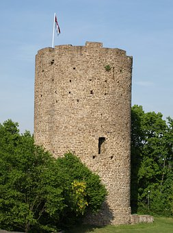 Tower, Castle Tower, City Blankenberg, Middle Ages