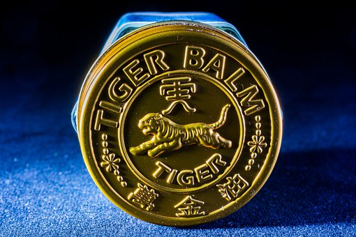 Tigerbalm, Jewelry Cover, Relief, Close