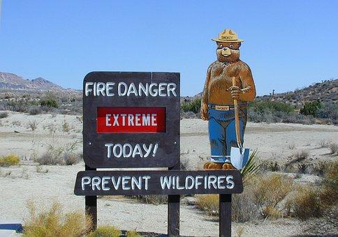 Fire Warning, Danger Note, Shield, Fire Hazard