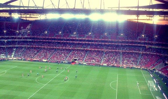 Stadium, Football, Benfica, Player, Portugal, Lisbon