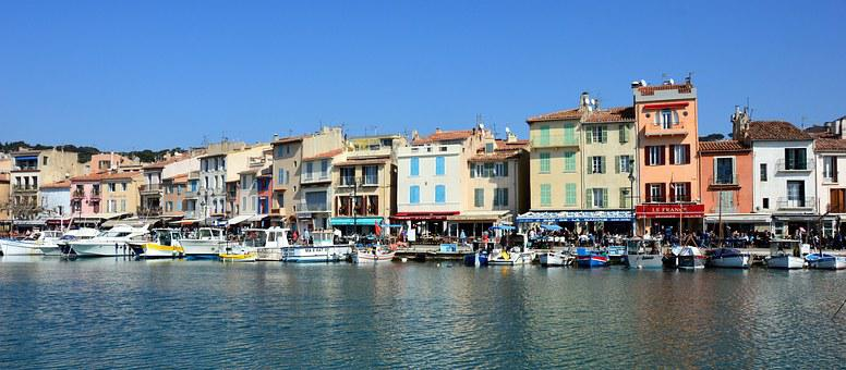 Port Of Cassis, France, Mediterranean Sea