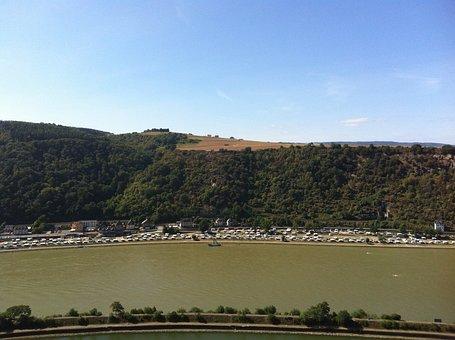 River, Loreley, Rhine, Shipping