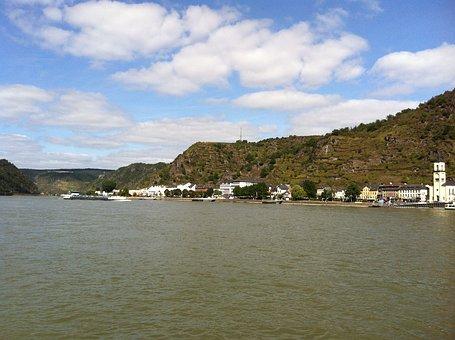 Loreley, Shipping, Rhine