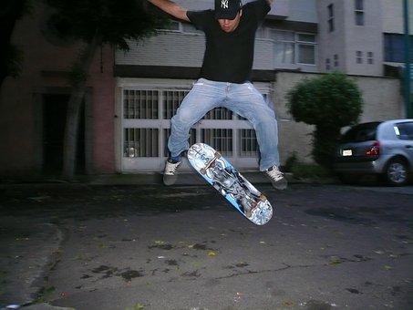 Skateboarding, Skateboard, Kickflip