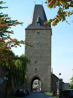 Katharinenturm, City Blankenberg, Tower, Middle Ages