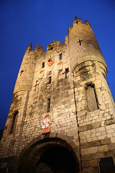 Castle York, United Kingdom, England, Medieval, Tower