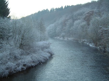 Wupper, Frost, Water
