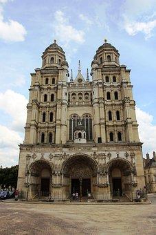 Dijon, France, Building, Historic Center, Architecture