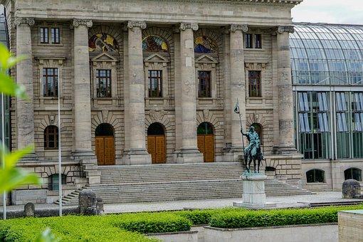 Munich, State Parliament, Bavaria, Classical, Modern