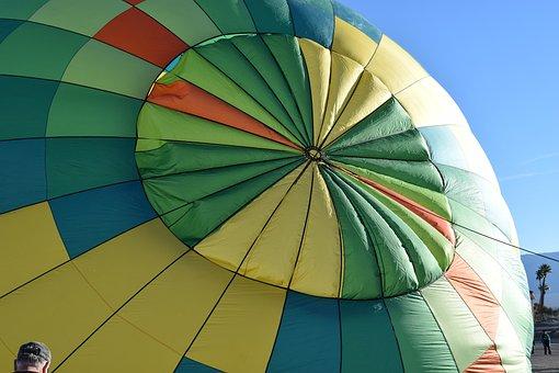 Hot Air Balloon, Balloon Launch, Colorful, Ballooning