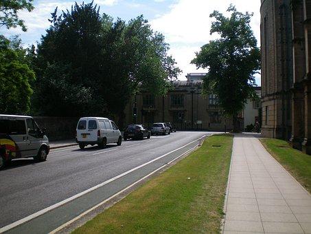 Oxford, England, Street, Traffic