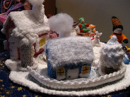Wintry, Knitted, Hand Labor, Make Your Own, Knit