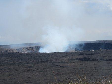 Hawaii, Volcano, Crater