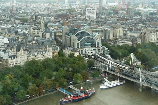 View, London Eye, London, England, Cityscape
