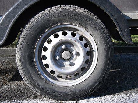 Mature, Wheel, Auto, Rim, Profile, Round, Nuts