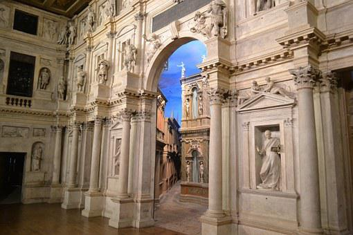 Theatre, Vicenza, Palladio, Italy, City Of Vicenza