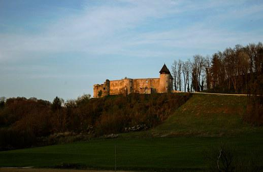 Castle, Ruin, Medieval, Historic, Fortress, Old