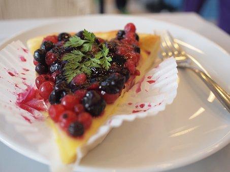 Dessert, Tart, Raspberry