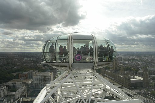 The London Eye, View, Carousel, The Height Of The