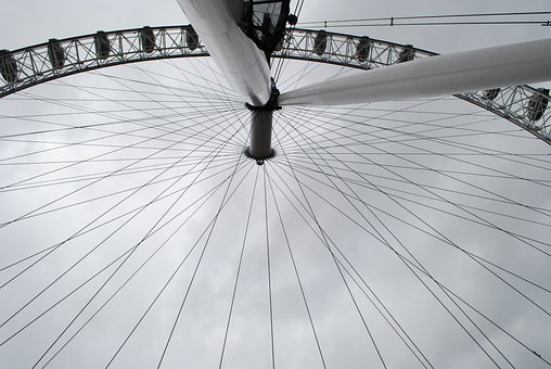 The London Eye, Carousel, The Height Of The, View