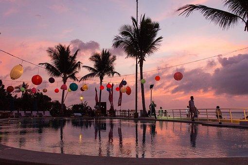 Bali, Sunset, Sky, Travel, Hotel, Holy, Beach