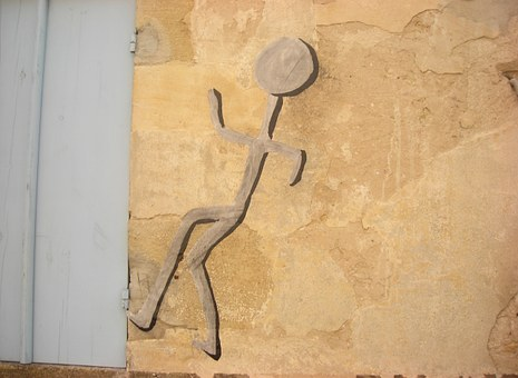 Wall, Character, Intrusion