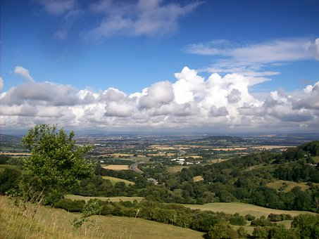 Gloucestershire, England, Great Britain, Sky, Clouds