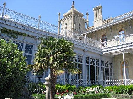 Crimea, Vorontsov's Palace, Morning