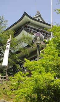 Castle, Japan, Building, Heritage, Historical, Japanese