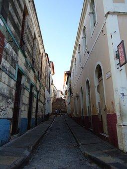Path, Narrow, Houses